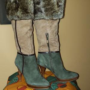 Multi color boots